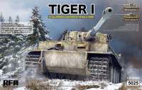 RFM Model RM-5025 Tiger I Early Production Wittmann 1:35