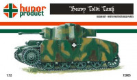 Hunor Product 72005 43M Heavy Toldi 1/72