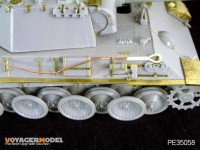 Voyager Model PE35058 Photo Etched set for 1/35 Panther Ausf G (For TAMIYA / DRAGON)