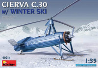 MiniArt 41014 Cierva C.30 W/ Winter Ski 1:35