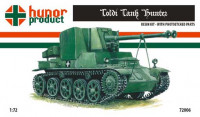 Hunor Product 72006 44M Toldi Tank Hunter 1/72