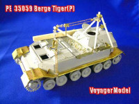 Voyager Model PE35059 Photo Etched set for 1/35 WWII German Berge Tiger(P) (For DRAGON 6226)
