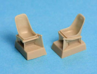 SBS Model 48008 Bf-109E seats without harness 1:48