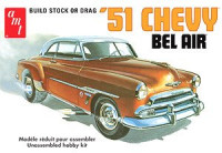 AMT 862 1951 Chevy Bel Air 1:25