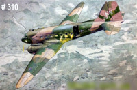 Roden 310 Douglas AC-47D Spooky ground attack gunship 1:144