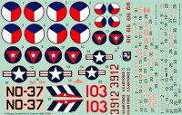 HM Decals HMD-72006 1/72 Decals MiG-15 in the Cold War - Part 1
