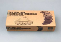 Trumpeter 02036 U.S. T85E1 track for U.S. M24 light tank (late) 1:35