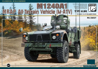 Panda Hobby 35027 M1240A1 MRAP All-Terrain Vehicle (M-ATV) 1:35