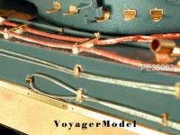 Voyager Model PE35062 Photo Etched set for 1/35 Tiger I Early Version (For TAMIYA 35275)