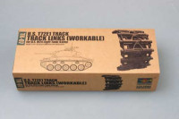 Trumpeter 02037 U.S. T72E1 steel track for U.S. M24 light tank (early) 1:35