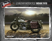 Thunder model TM35003 US Military Indian 741B (2 kits in box) 1:35