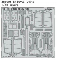 Eduard 481006 SET Bf 109G-10 Erla (EDU)