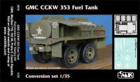 CMK 3019 GMC CCKW 353 fuel tank - conversion set for TAM 1:35