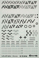Tally-Ho DECTS7214 1/72 Luftwaffe Chevrons Stencils