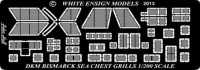 White Ensign Models PE 2017 BISMARCK SEA CHEST INTAKE GRILLES 1/200
