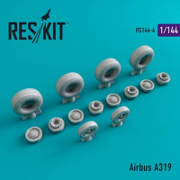 Reskit 14404 1/144 Airbus A319 wheels (REV)