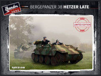 Thunder model TM35100 Bergepanzer 38 Hetzer Late 1:35