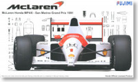 Fujimi 090818 McLaren Honda MP4/6 Early Type San Marino GP 1991 1:20