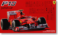 Fujimi 090955 Ferrari F10 Japan GP Clear Body 1:20