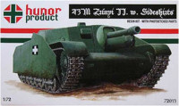 Hunor Product 72013 43M Zrinyi II. (w. side skirts) 1/72