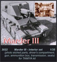 CMK 3022 Marder III - interior set for TAM 1:35