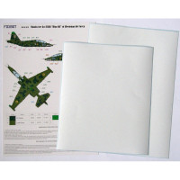 Foxbot FM32-012 Su-25UB Blue 60, Ukranian Air Forces, clover camouflage (Use & Foxbot Decal) 1/32