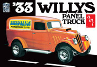 AMT 879 1933 Willys Panel Truck 1:25