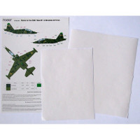 Foxbot FM32-013 Su-25UB Blue 65, Ukranian Air Forces, clover camouflage (Use & Foxbot Decal) 1/32