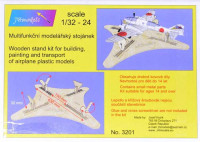 JH MODELS JHM-32001 1/32 Wooden stand for airplanes building/transport