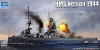 Trumpeter 06717 Royal Navy HMS Nelson 1944 1:700