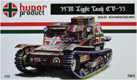 Hunor Product 72015 35M Light Tank (w. S-MODEL CV-33) 1/72