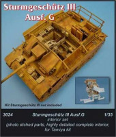 CMK 3024 Stug III - interior set for TAM 1:35