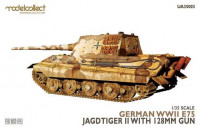 Modelcollect UA35003 German WWII E75 jagdtiger II with 128mm gun 1:35