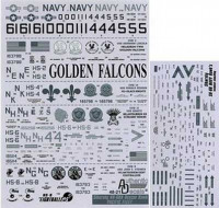 Authentic Decals AD 4821 Modern US Navy SH-60H