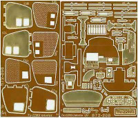 Part S-72208 Tu-22M3 interior Italeri 1/72