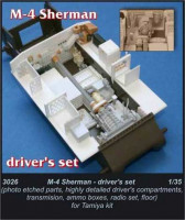 CMK 3026 M4 Sherman - driver's set for TAM 1:35