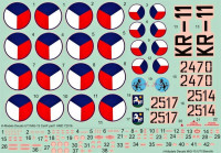 HM Decals HMD-72016 1/72 Decals MiG-15 in Czech Air Force - Part 1