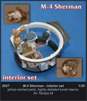 CMK 3027 M4 Sherman - interior set for TAM 1:35