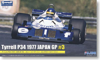 Fujimi 090900 Tyrell P34 1977 Japan GP #3 Bengt Ronnie Peterson Long Wheel Ver. 1:20