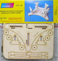 JH MODELS JHM-72001 1/72 Wooden stand for airplanes building/transport