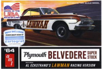 AMT 986 1964 Plymouth Belvedere Roman Super Stock 1:25