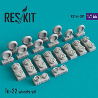 Reskit 14401 1/144 Tu-22 wheels set (MIKROMIR)