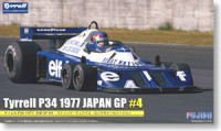 Fujimi 090924 Tyrell P34 1977 Japan GP #4 Patrick Depailler Long Wheel Ver. 1:20