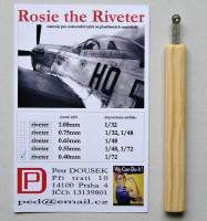 Dousek Riveters PDRIVET01 Rosie the Riveter 0.40mm (for 1/72)
