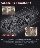 CMK 3029 Pz. V Panther - driver's set for TAM 1:35
