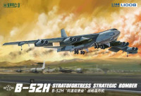 Great Wall Hobby L1008 B-52H Stratofortress бомбардировщик США 1:144