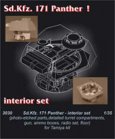 CMK 3030 Pz. V Panther - interior set for TAM 1:35