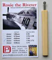 Dousek Riveters PDRIVET02 Rosie the Riveter 0.55mm (for 1/72, 1/48)