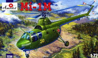 Amodel 07234 Mi-1M Helicopter 1:72