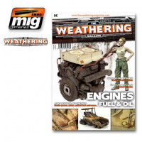 Ammo Mig Jimenez 4503 Issue 4. ENGINE, GREASE AND OIL English